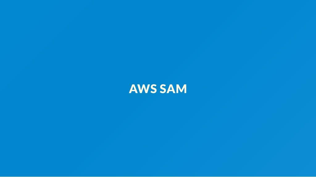 AWS SAM
