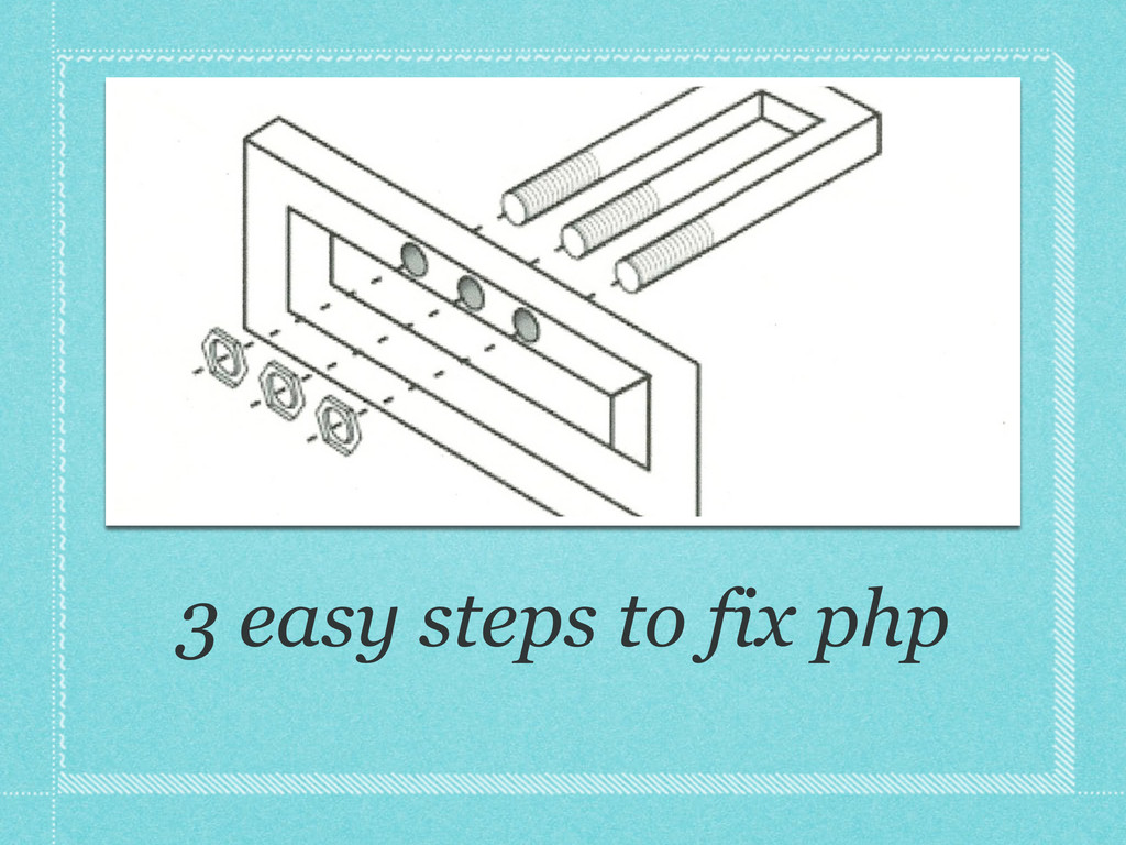 3 easy steps to fix php