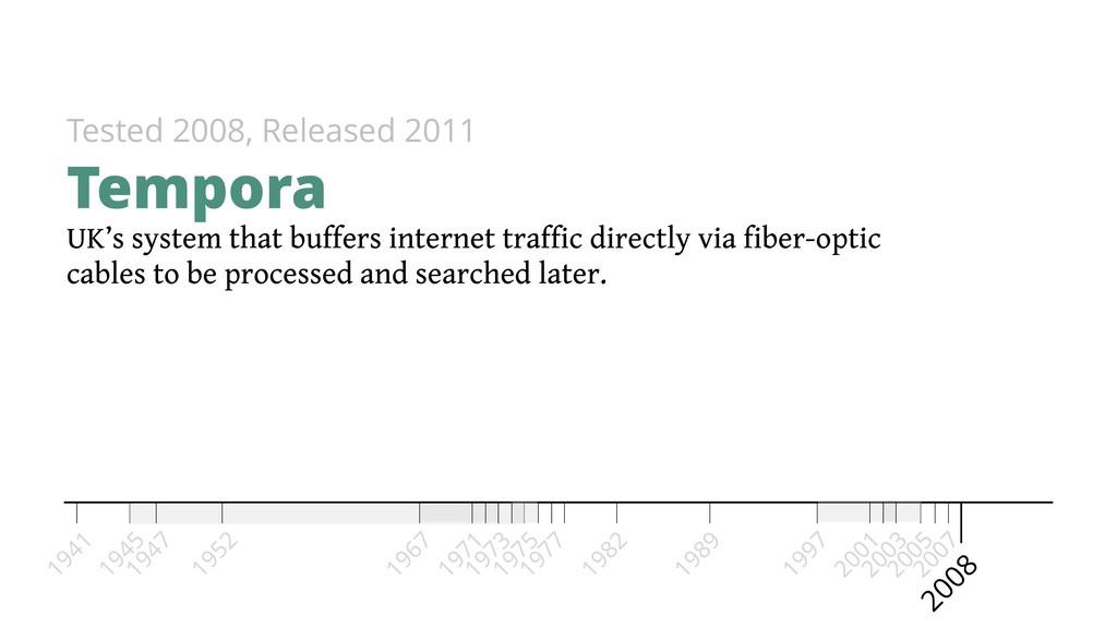 UK's system that buffers internet traffic direc...