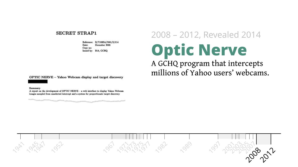 A GCHQ program that intercepts millions of Yaho...