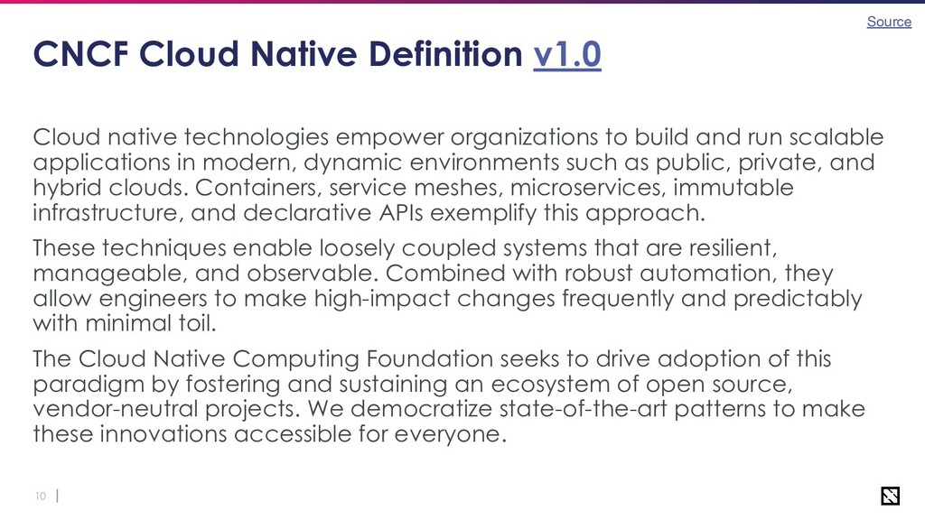 10 CNCF Cloud Native Definition v1.0 Cloud nati...