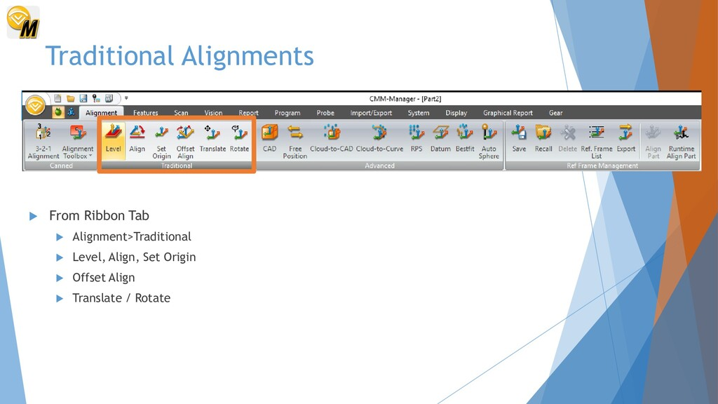 Traditional Alignments  From Ribbon Tab  Alig...
