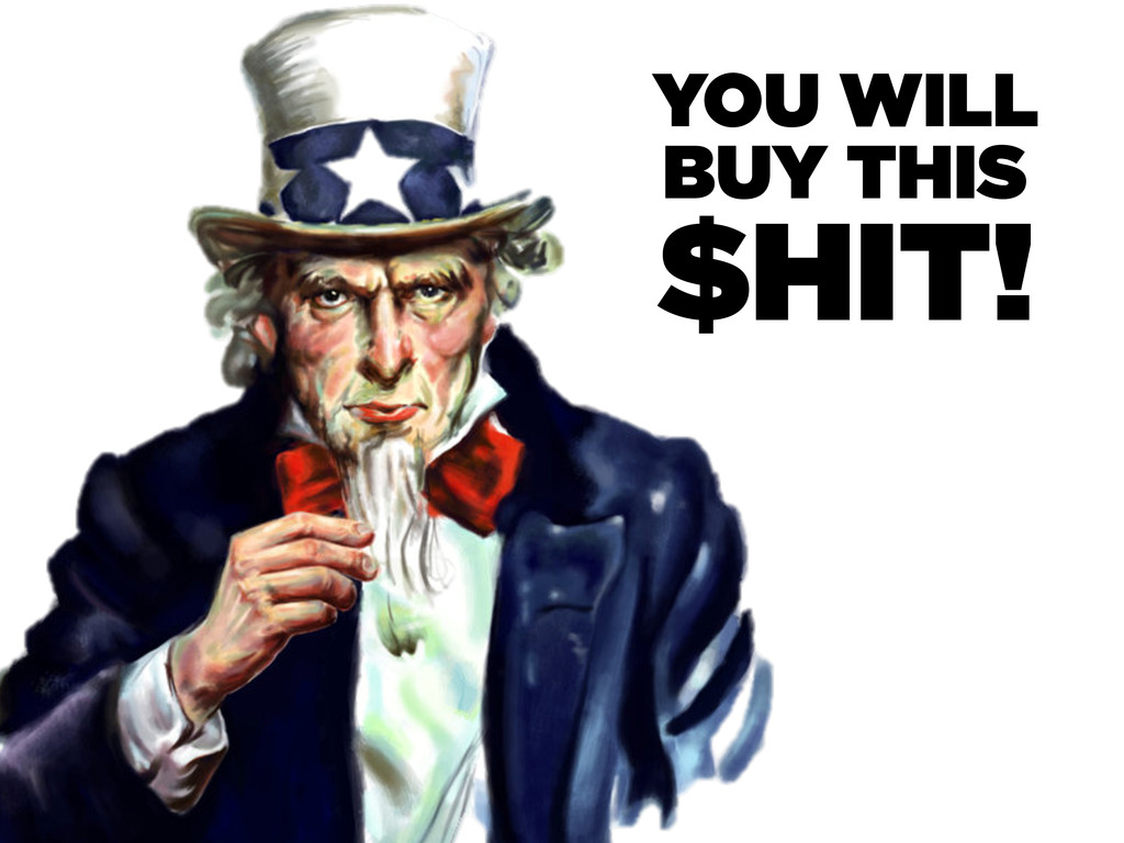 YOU WILL BUY THIS $HIT!