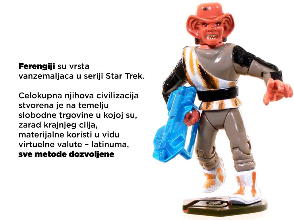 Ferengiji su vrsta vanzemaljaca u seriji Star T...