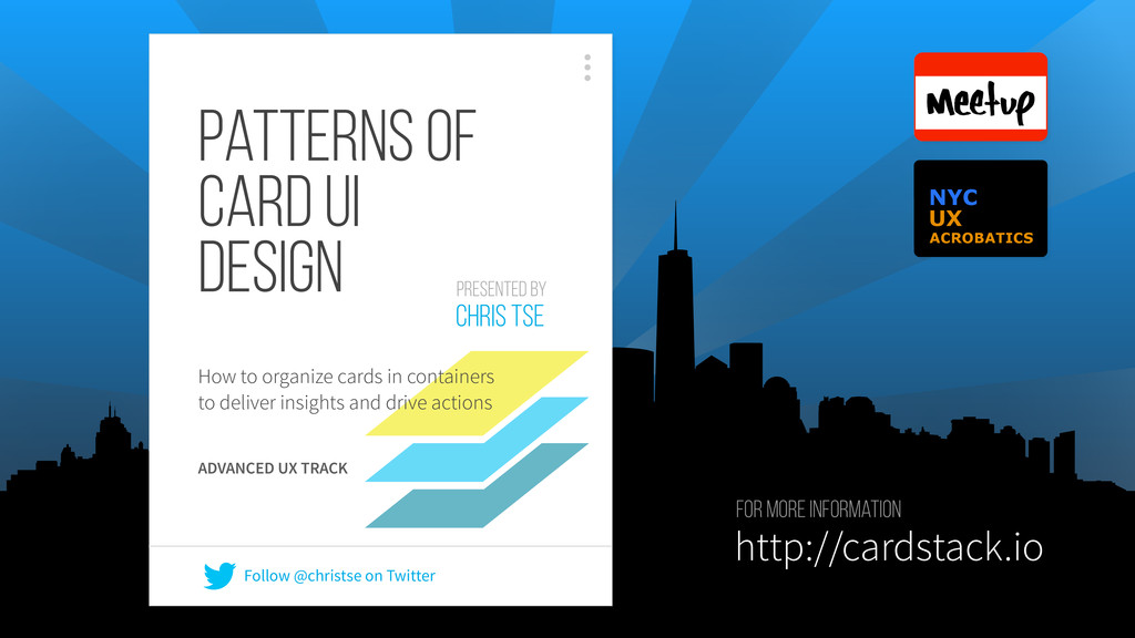 Patterns of Card UI Design How to organize card...