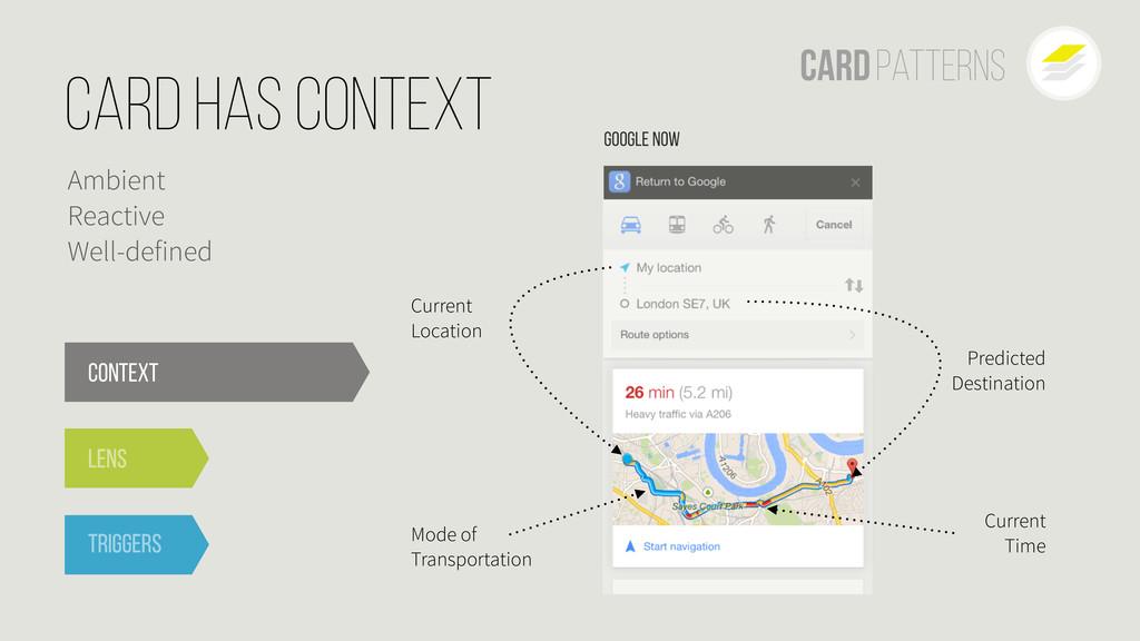 Context Lens Triggers Google Now Current Locati...