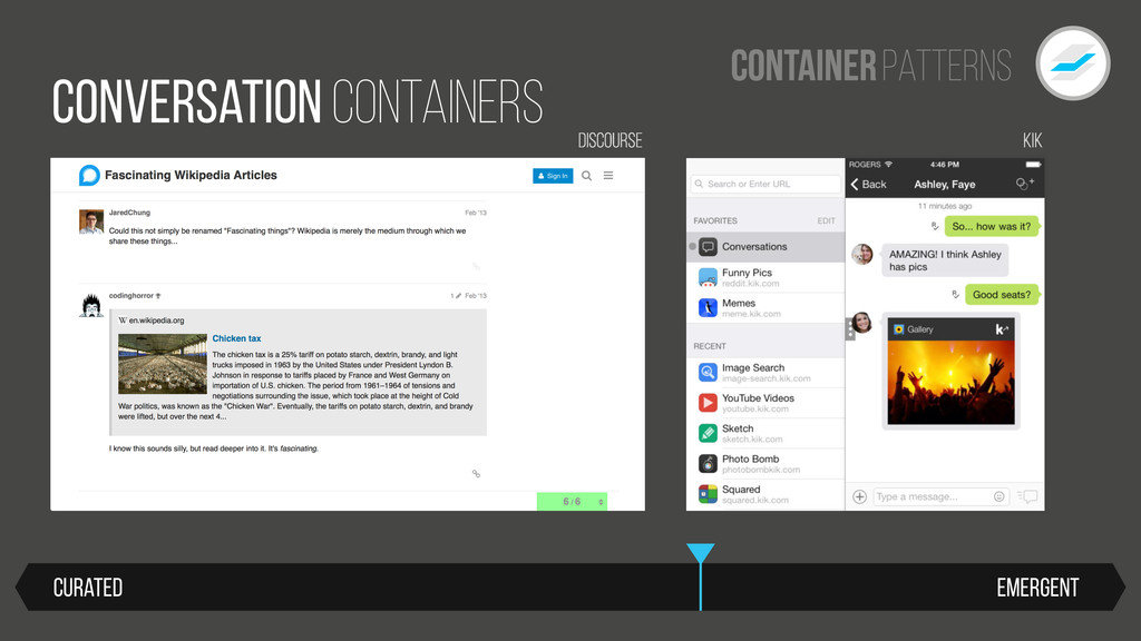 Patterns Container Emergent Curated Conversatio...
