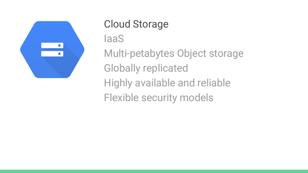 Cloud Storage IaaS Multi-petabytes Object stora...
