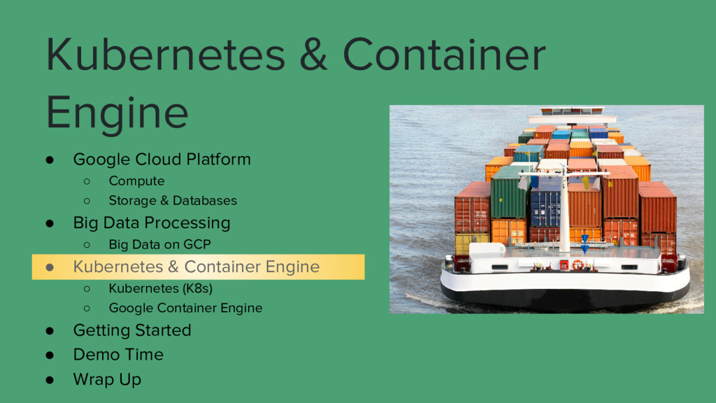 Kubernetes & Container Engine ● Google Cloud Pl...
