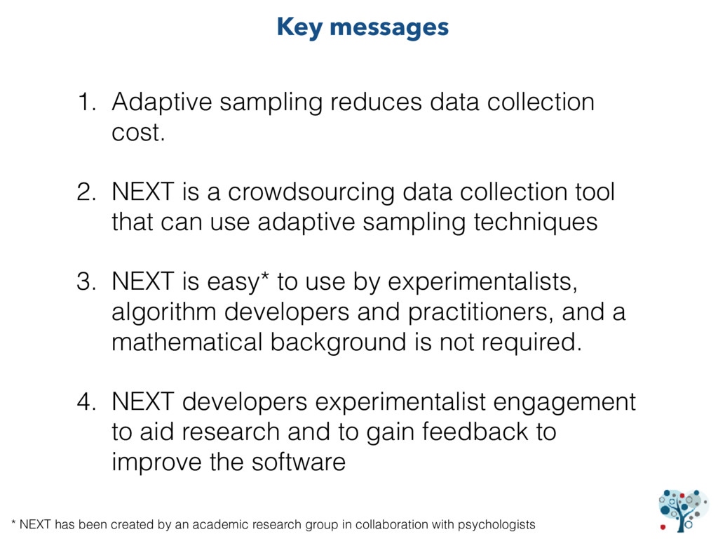 1. Adaptive sampling reduces data collection co...