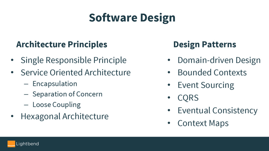 Software Design Architecture Principles • Singl...