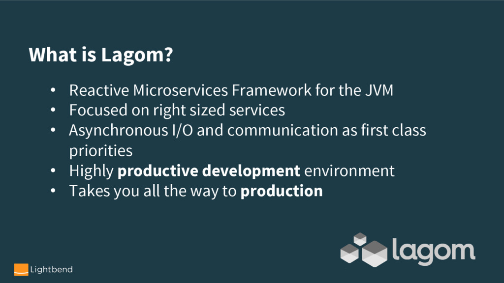 • Reactive Microservices Framework for the JVM ...