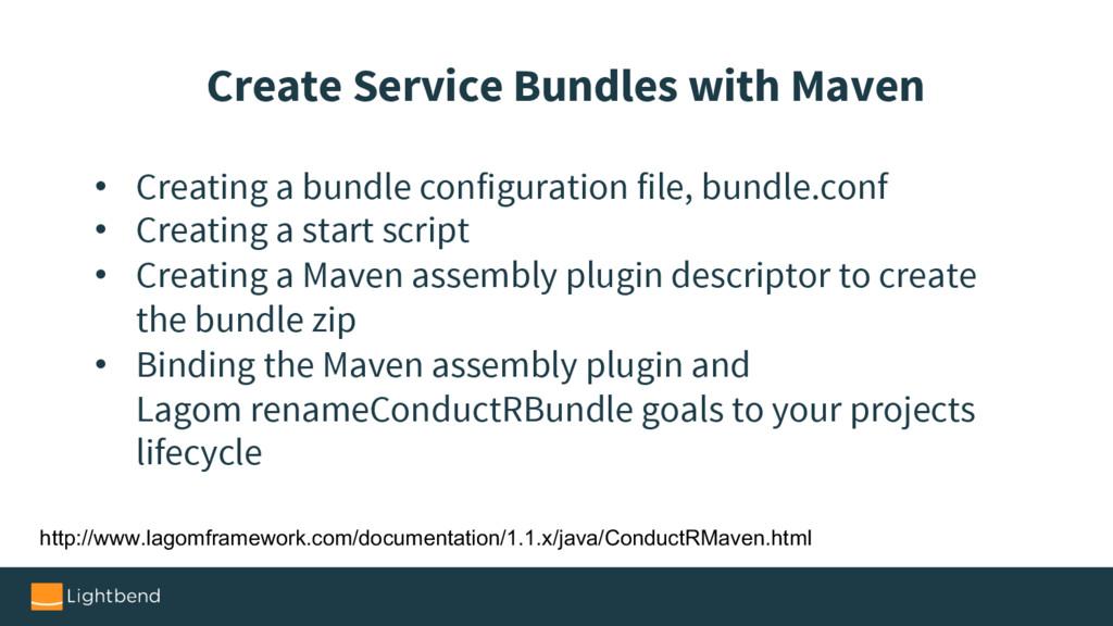 • Creating a bundle configuration file, bundle....