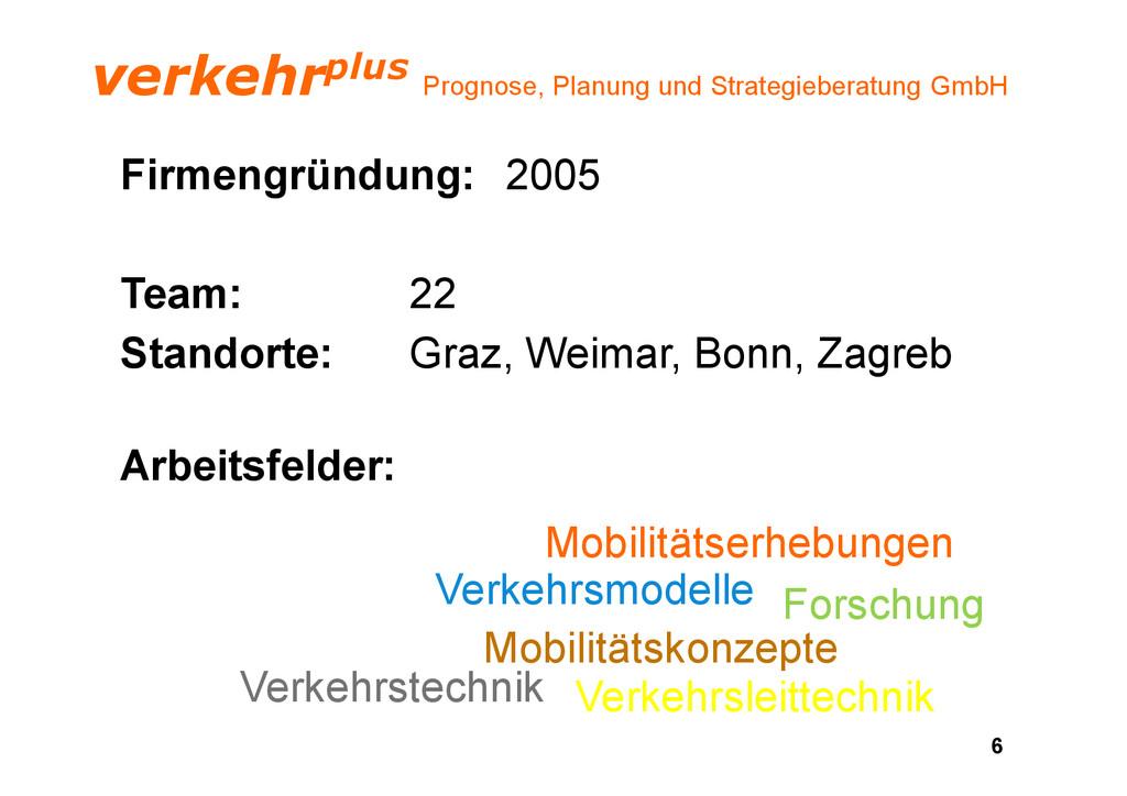 verkehrplus Prognose, Planung und Strategiebera...