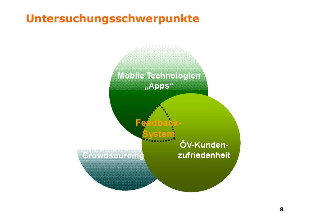 8 8 Untersuchungsschwerpunkte Mobile Technologi...