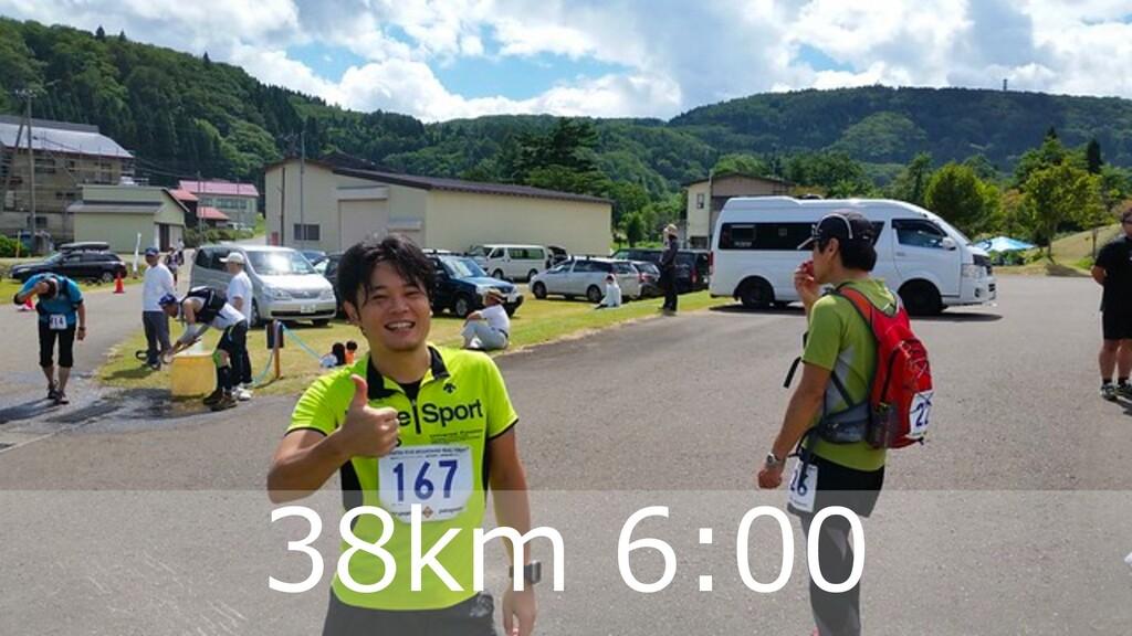 ハマコーが好きな トレランコース 35 38km 6:00