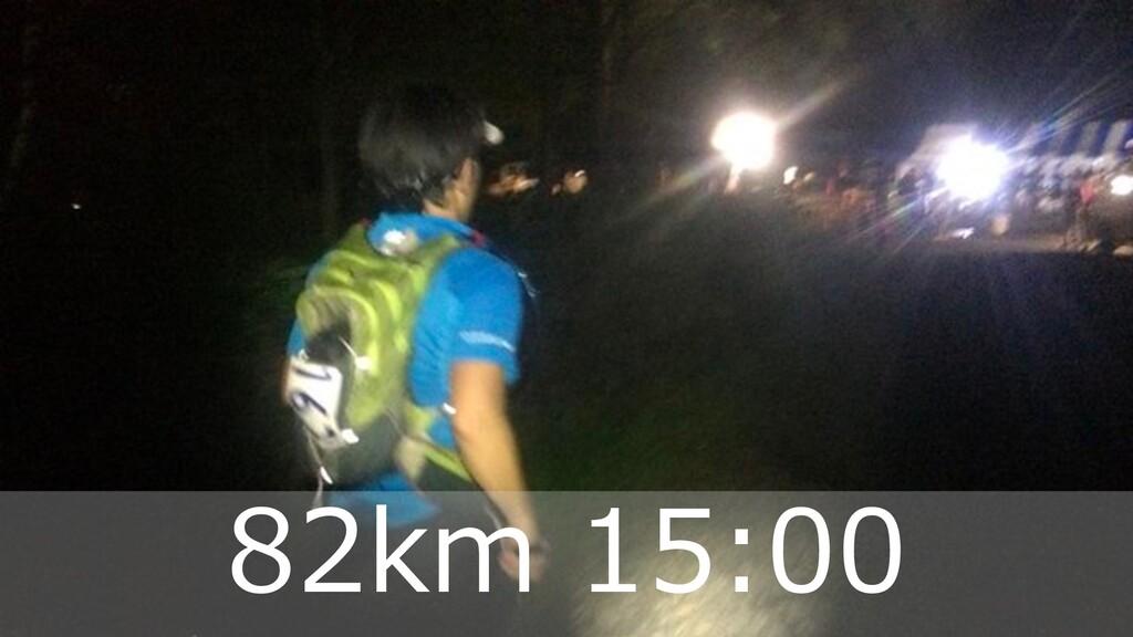 ハマコーが好きな トレランコース 38 82km 15:00