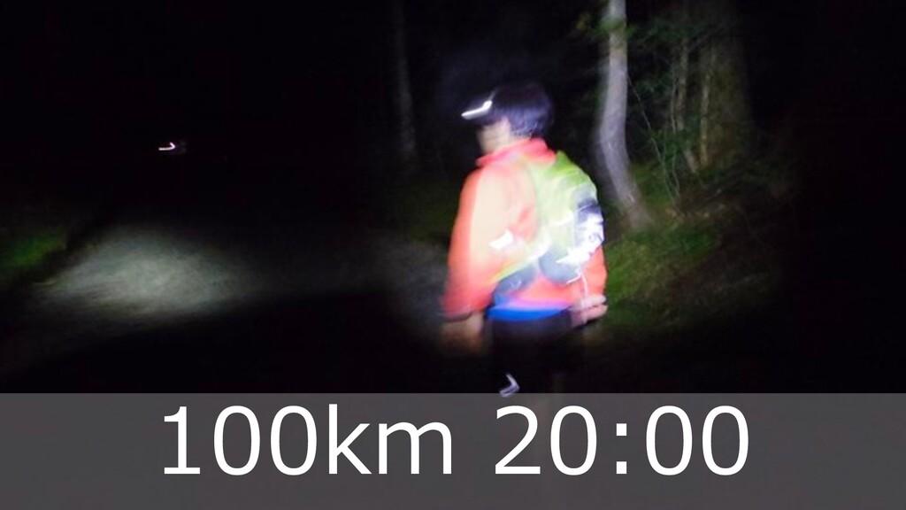 ハマコーが好きな トレランコース 42 100km 20:00
