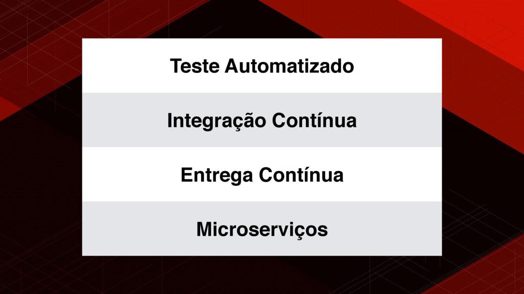 Teste Automatizado Integração Contínua Entrega ...