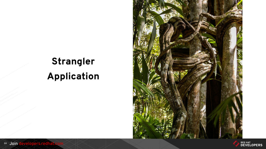 Join developers.redhat.com Strangler Applicatio...