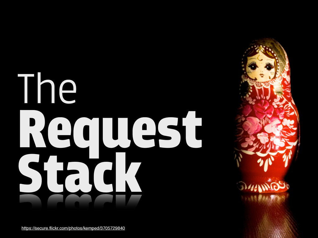 The Request Stack https://secure.flickr.com/phot...