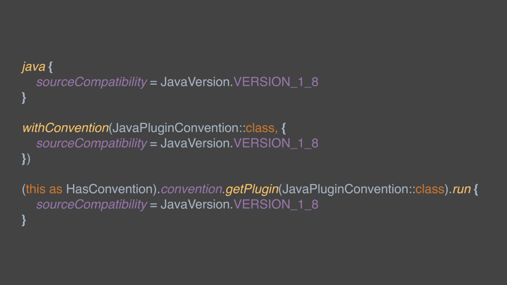 java { sourceCompatibility = JavaVersion.VERSIO...