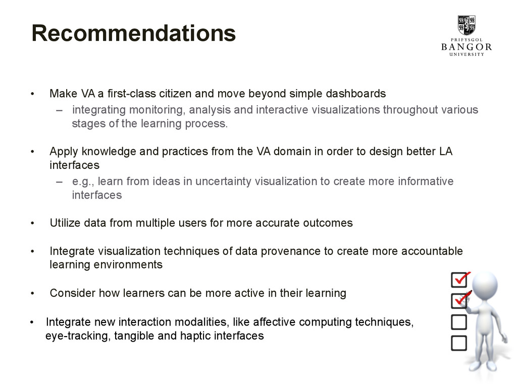 Recommendations • Make VA a first-class citize...