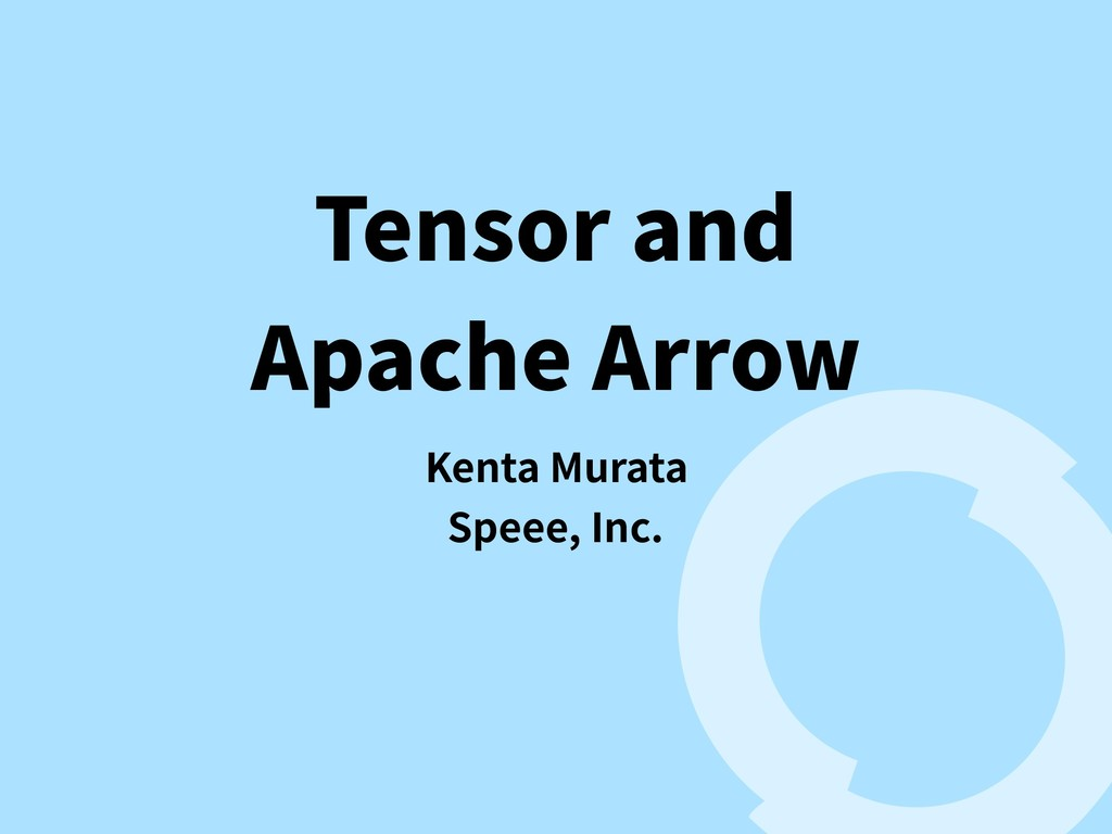 Tensor and