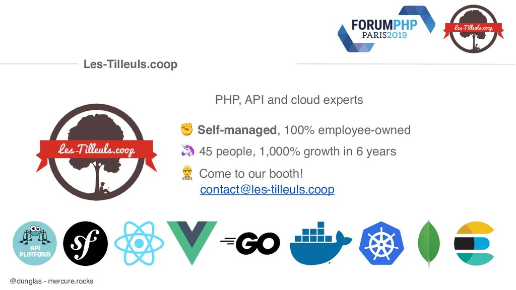 @dunglas - mercure.rocks PHP, API and cloud exp...