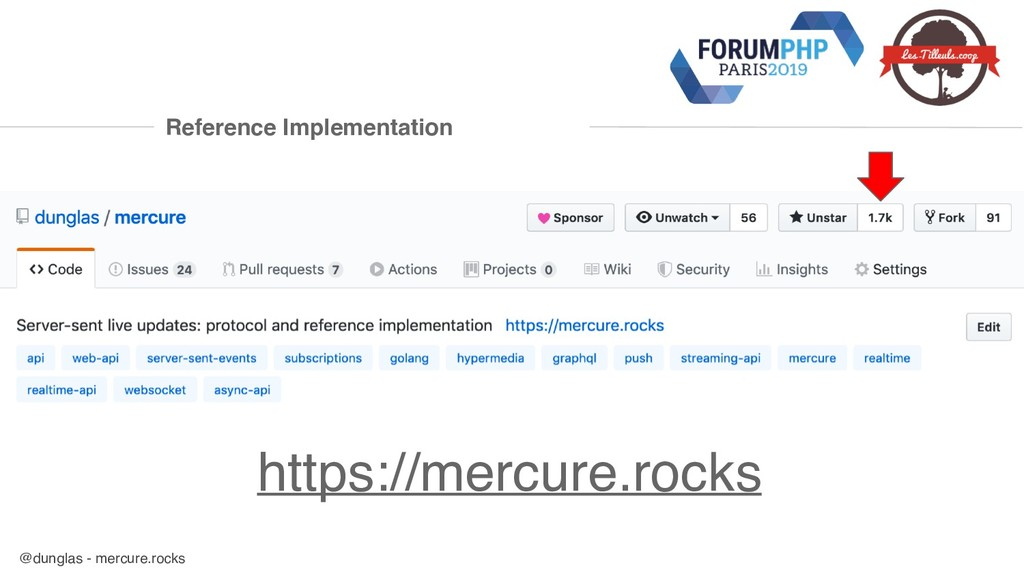 @dunglas - mercure.rocks Reference Implementati...