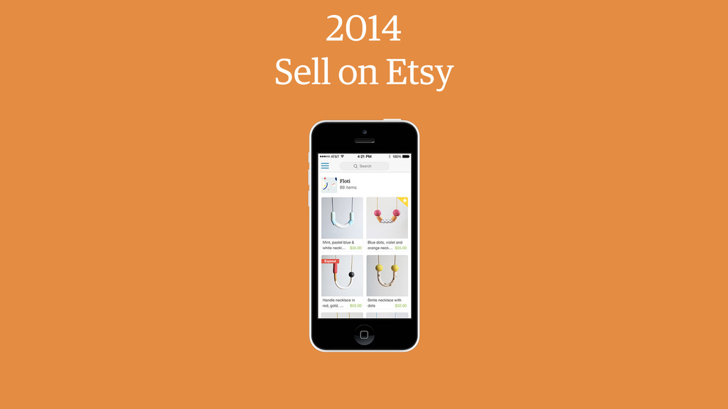 2014 Sell on Etsy