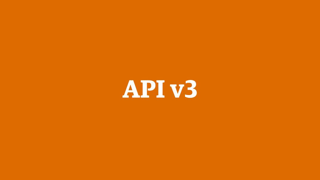 API v3