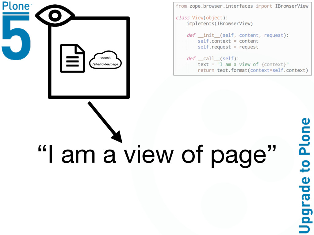 """""""I am a view of page"""""""