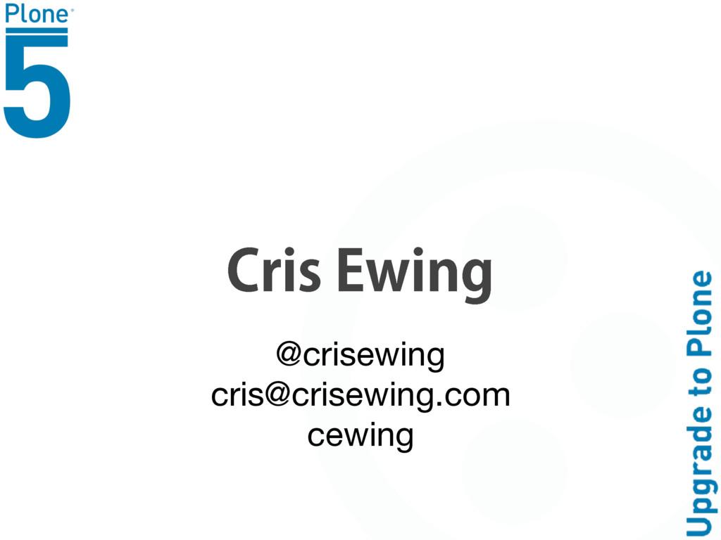 $SJT&XJOH @crisewing  cris@crisewing.com  cewi...