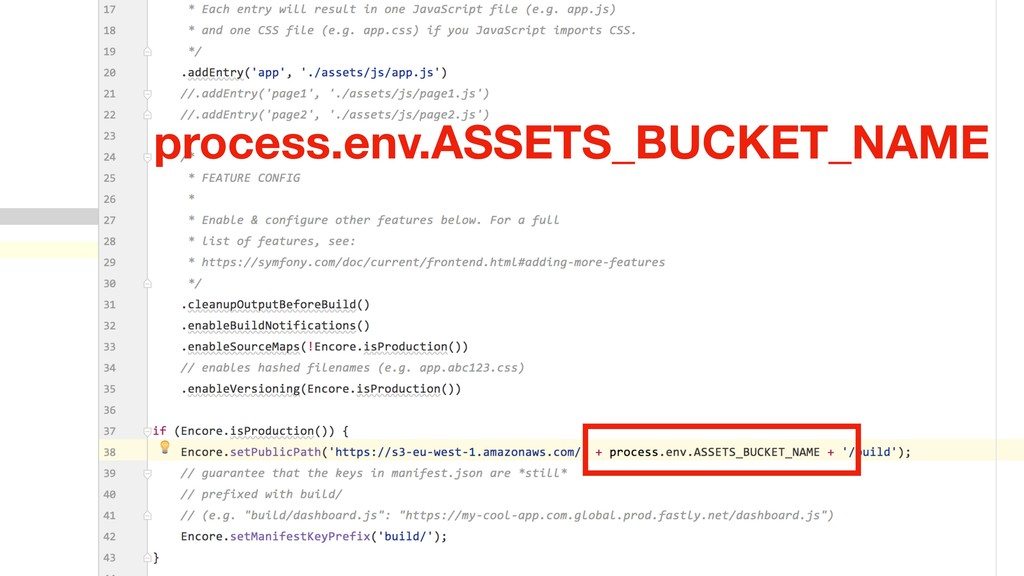process.env.ASSETS_BUCKET_NAME