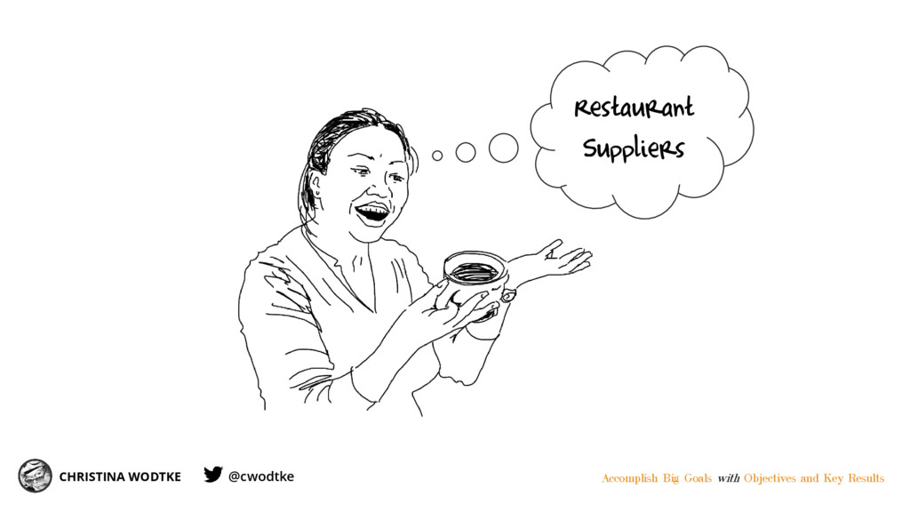 CHRISTINA WODTKE Restaurant Suppliers Accomplis...