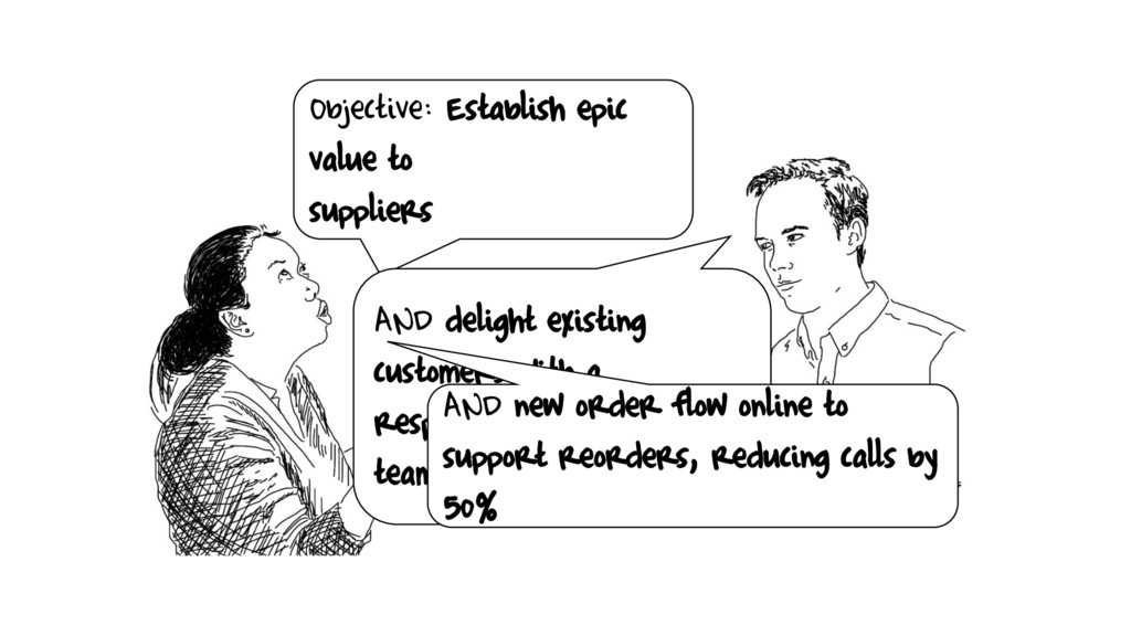 Objective: Establish epic value to suppliers AN...