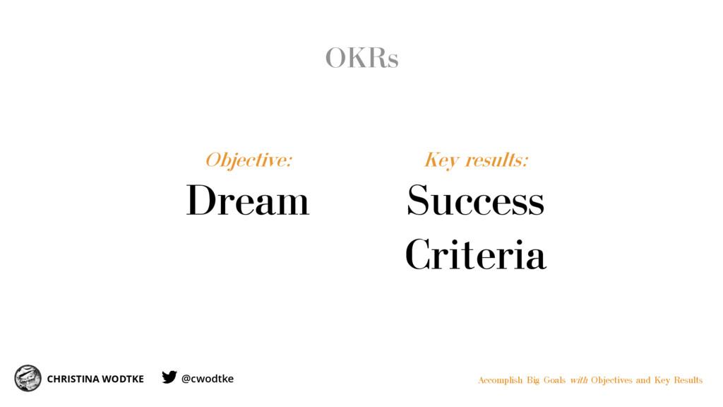 OKRs CHRISTINA WODTKE Accomplish Big Goals with...