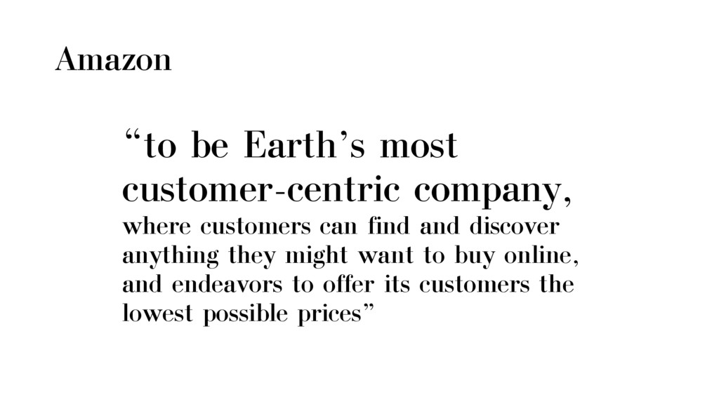 """Amazon """"to be Earth's most customer-centric com..."""