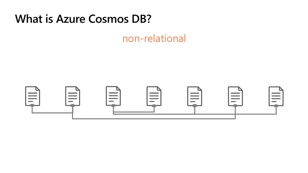 What is Azure Cosmos DB? non-relational