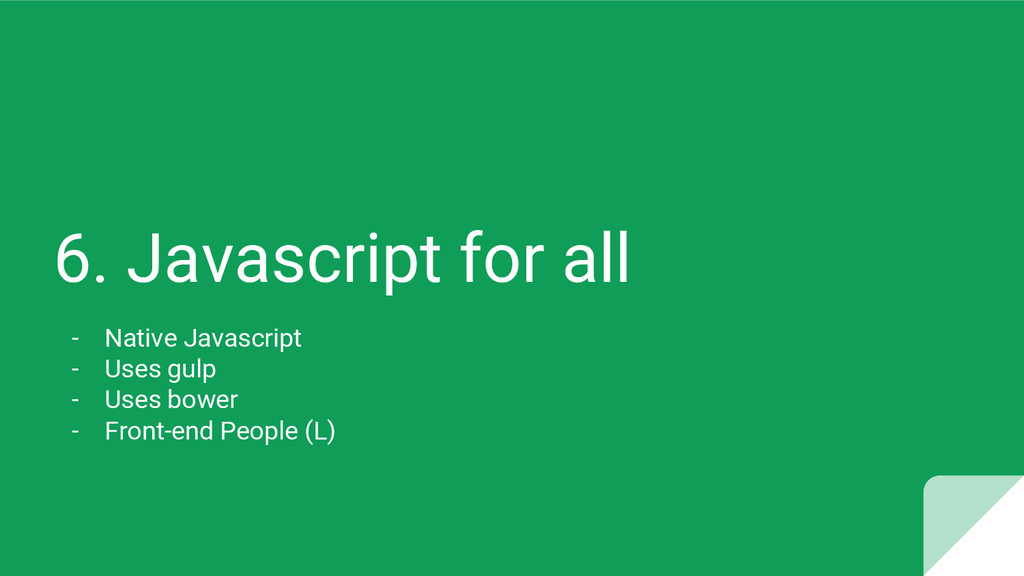 6. Javascript for all - Native Javascript - Use...
