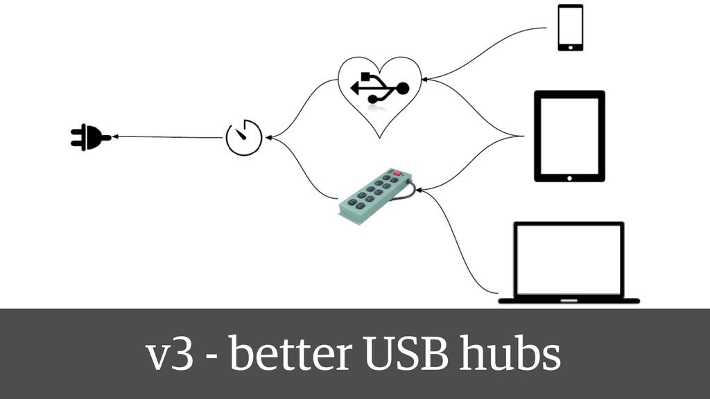 v3 - better USB hubs
