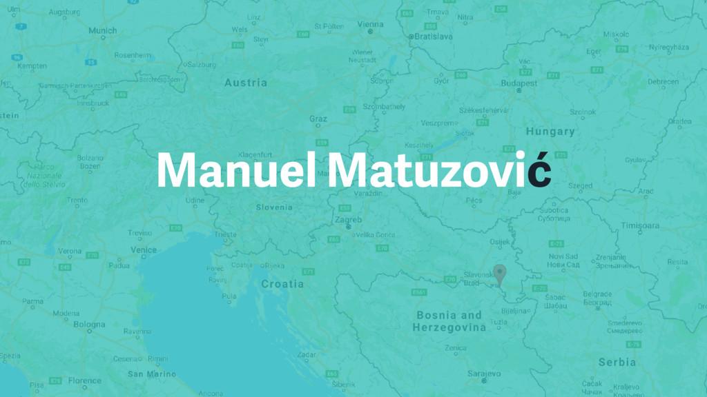 Manuel Matuzović