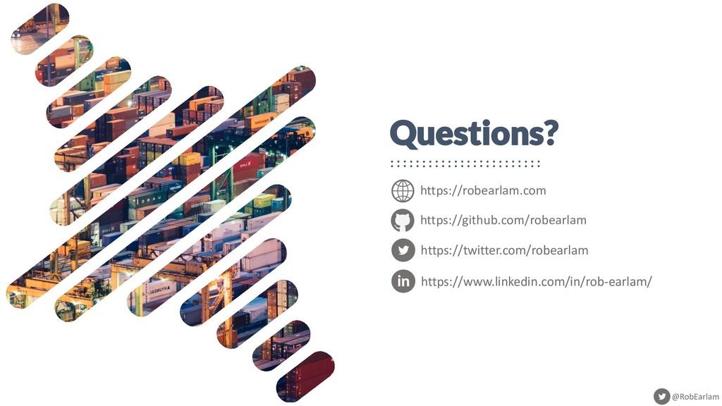 @RobEarlam Questions? https://robearlam.com htt...