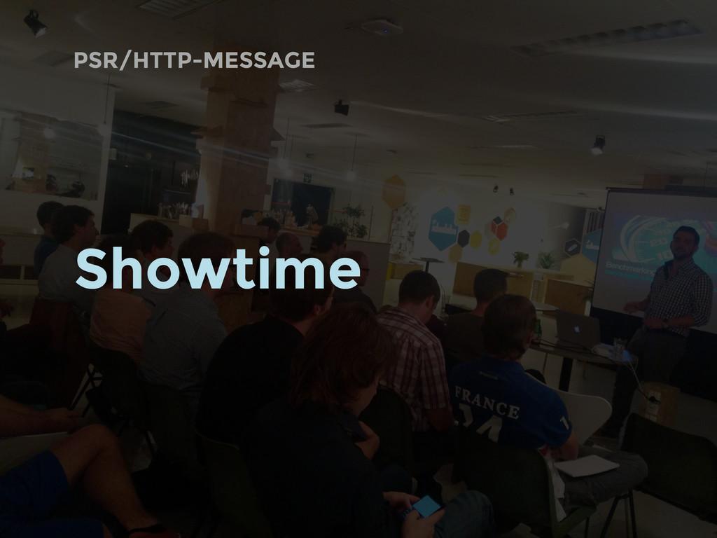 PSR/HTTP-MESSAGE Showtime