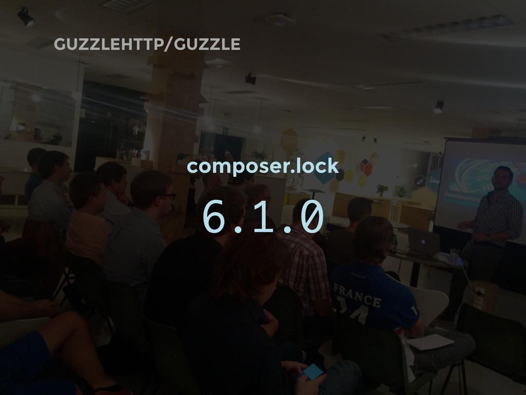 GUZZLEHTTP/GUZZLE composer.lock 6.1.0