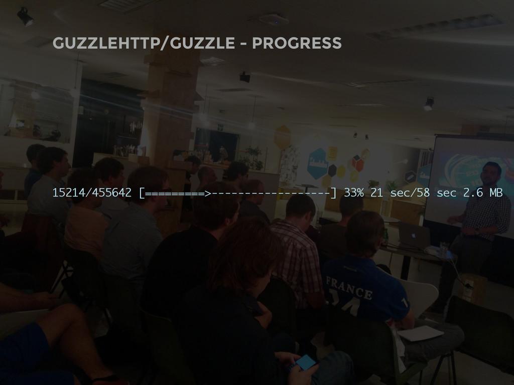GUZZLEHTTP/GUZZLE - PROGRESS 15214/455642 [====...