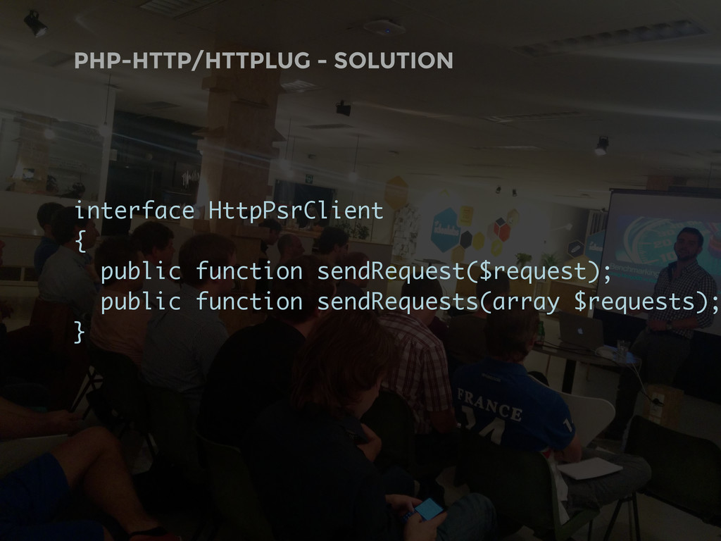 PHP-HTTP/HTTPLUG - SOLUTION interface HttpPsrCl...