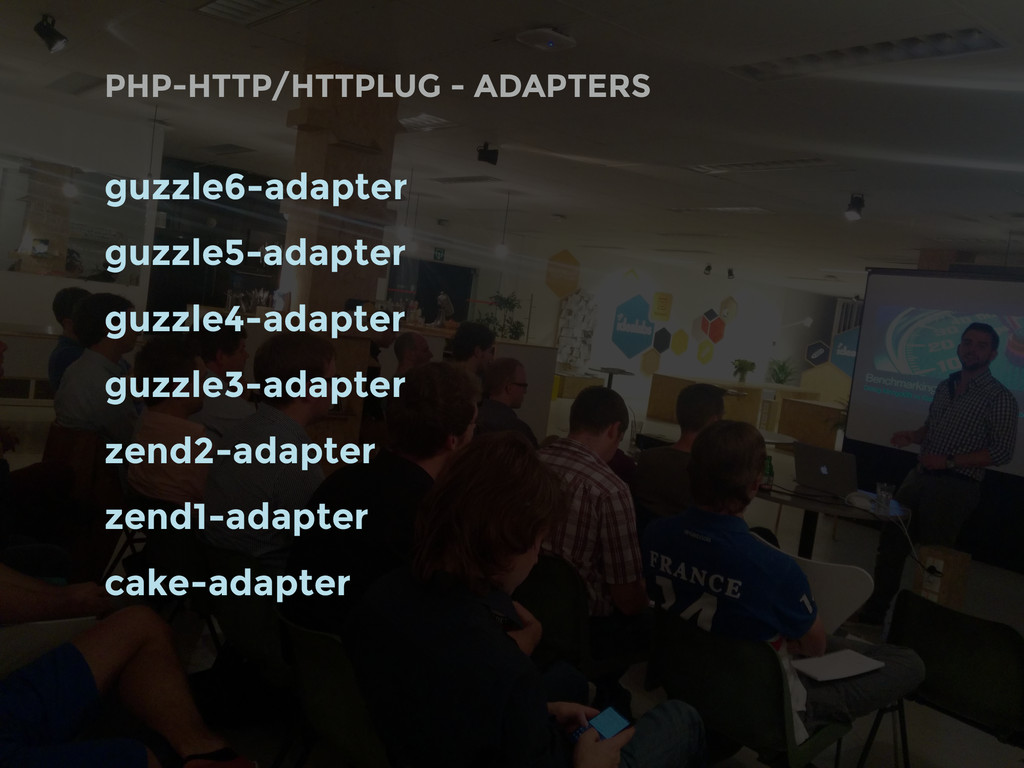 PHP-HTTP/HTTPLUG - ADAPTERS guzzle6-adapter guz...