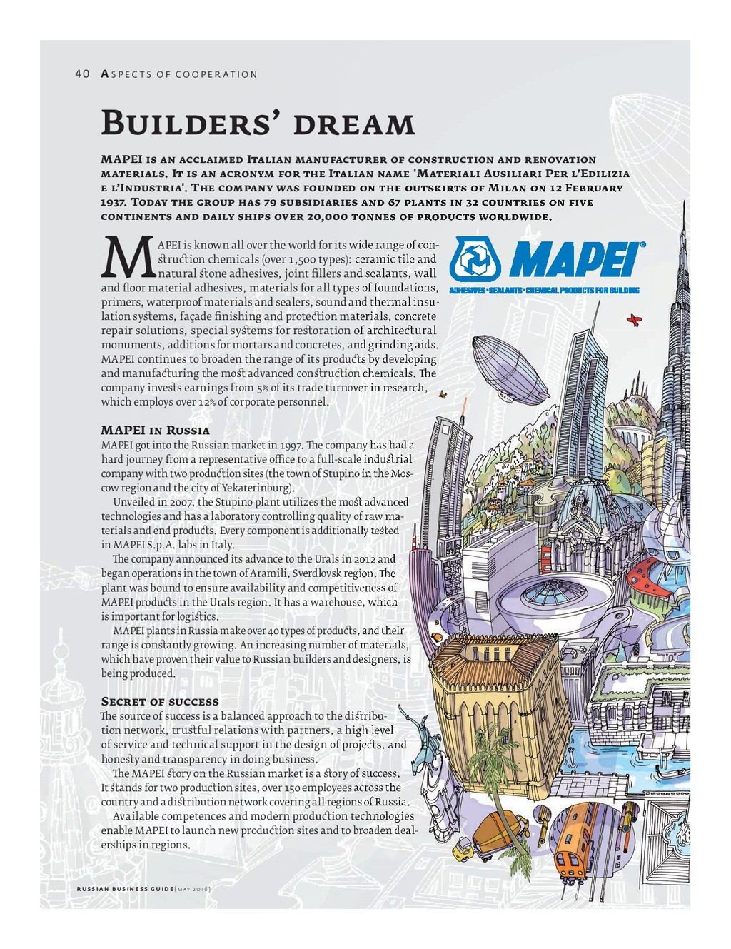 MAPEI is known all over the world for its wide ...